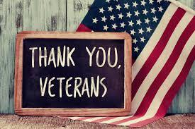Veterans Day - November 11, 2020