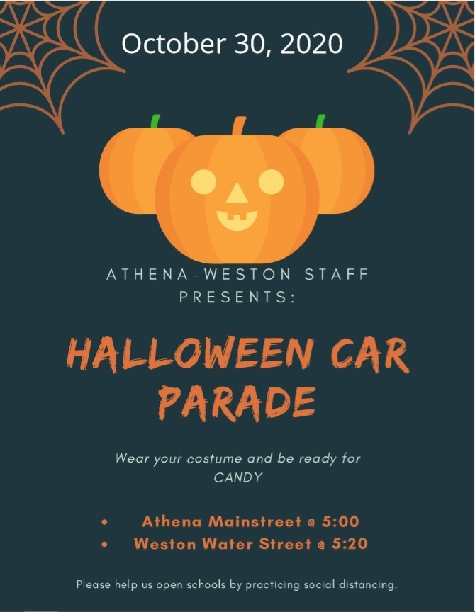 Halloween Parade - October 30th
