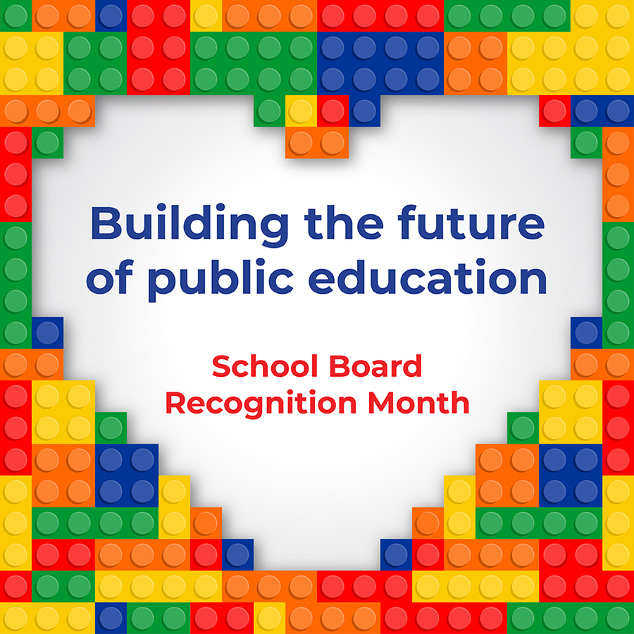 School Board Recognition Month - January
