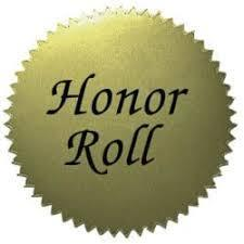 Weston Middle School 1st Semester Honor Roll  Students
