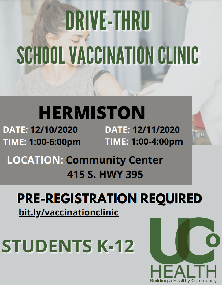 Vaccination Clinic Flyer