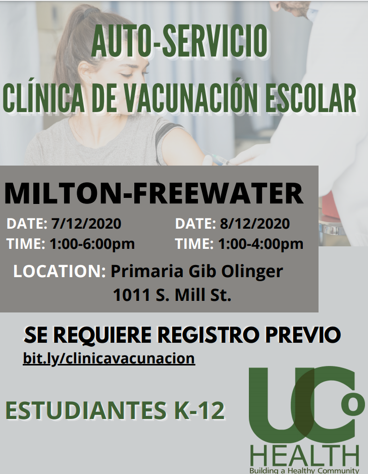 Spanish Vaccinatio Flyer